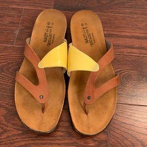 Naot summer shoes